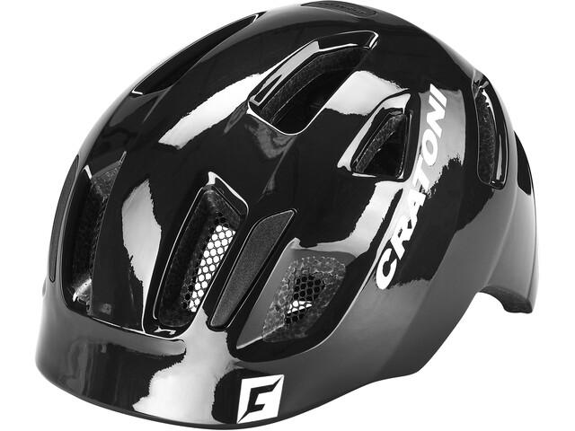 Cratoni Maxster Helmet Kids black gloss